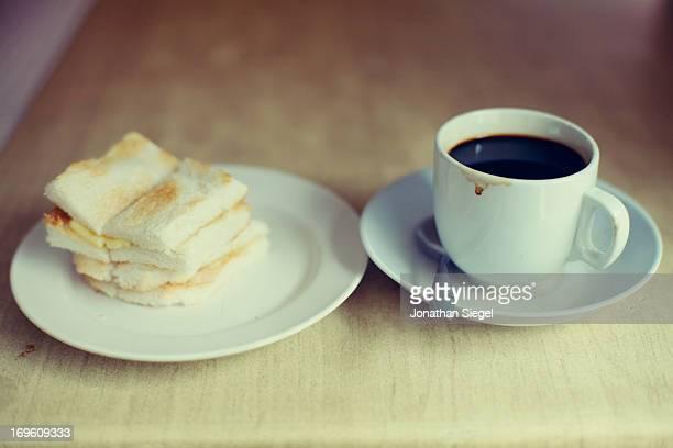 Toast and Coffee Breakfast