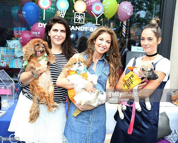 Toast Meets World Dylan Lauren and Aisha Jade attend a Dog Adoption Event hosted by the Monmouth County SPCA and Animal Lighthouse Rescue at Dylan's...