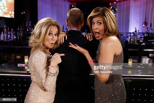 Toast to 2014 Hosted by Kathie Lee Gifford and Hoda Kotb Pictured Kathie Lee Gifford Hoda Kotb