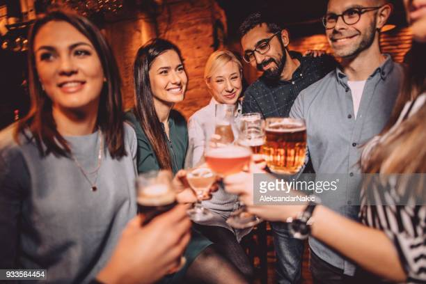 toast to our friendship - pub stock pictures, royalty-free photos & images