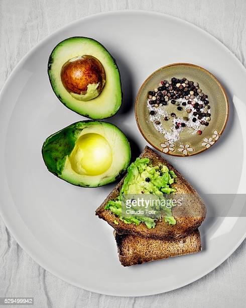 Toast with avocado