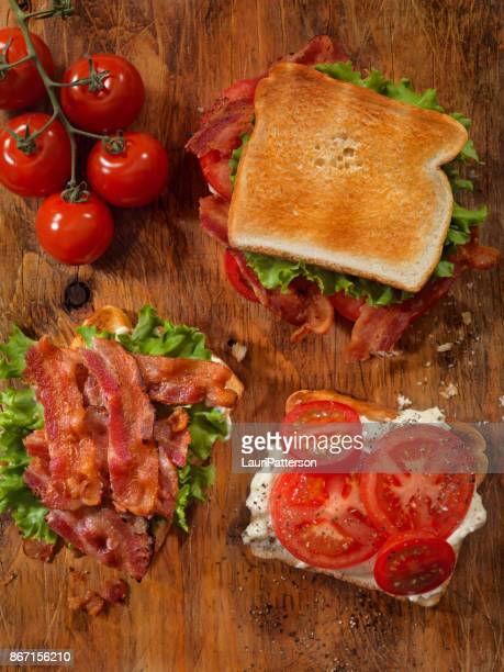 Toasted BLT Sandwich