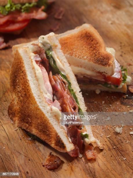 Geroosterde BLT Sandwich