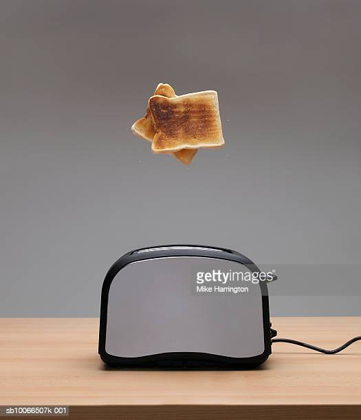 Toaster ejecting toast