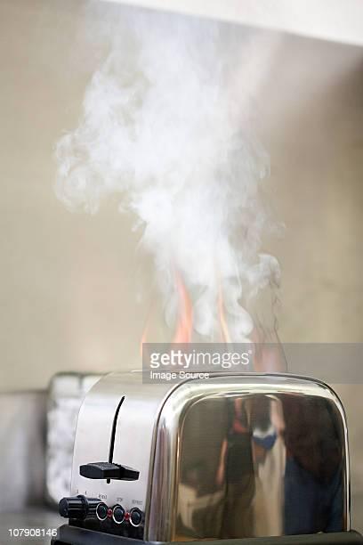 fire Grille-pain sur