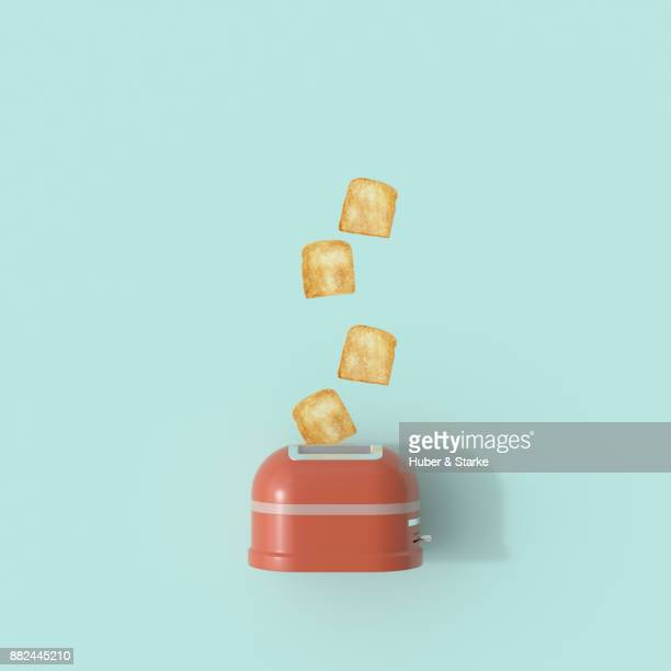 toaster - cooking illustrations stock pictures, royalty-free photos & images