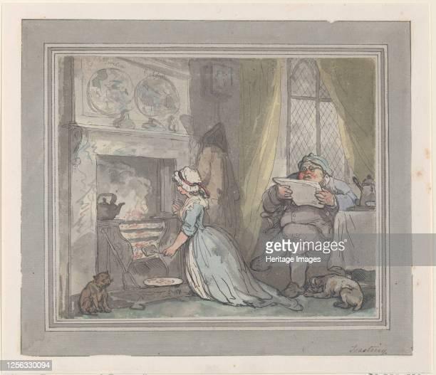 Toasting 178390 Artist Thomas Rowlandson