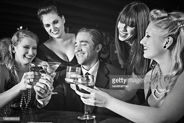 toasting - celebrities photos stock pictures, royalty-free photos & images