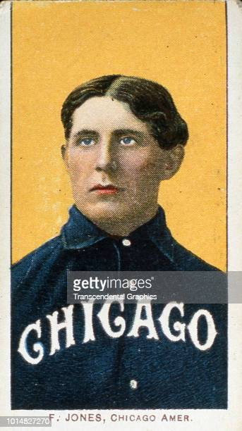 Tobacco baseball card features American baseball player and manager Fielder Jones of the Chicago White Sox New York New York 1909