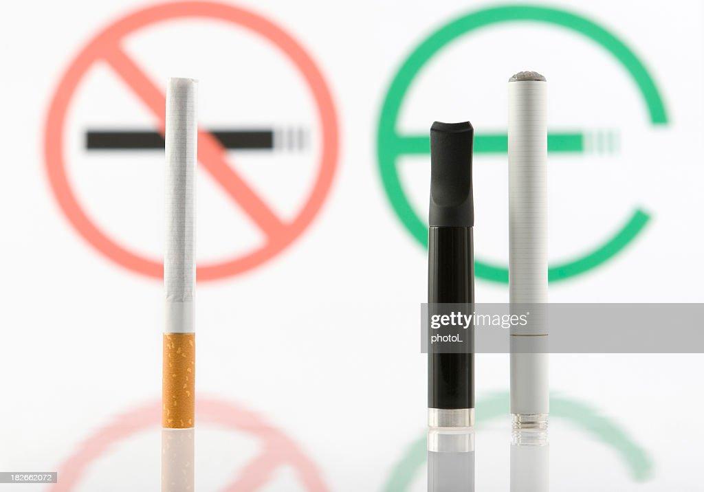 Tobacco or e-cigarette. : Stock Photo