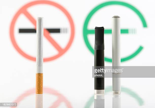 Tabak oder e-cigarette.