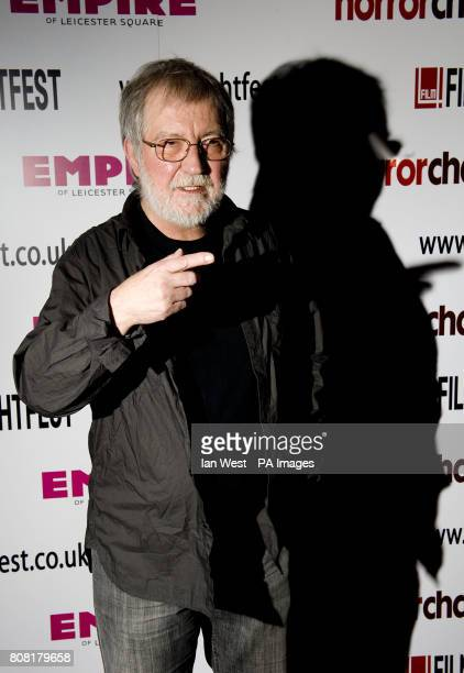 Tobe Hooper the director of Poltergeist and the Texas Chainsaw Massacre takes part in an Icon QA session during the Film4 Frightfest season at the...