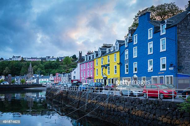 tobermory, isle of mull - theasis stock pictures, royalty-free photos & images