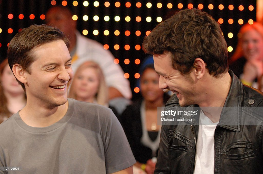 """The Cast of """"Spider-Man 3"""" Visits MTV's """"TRL"""" - May 1, 2007"""