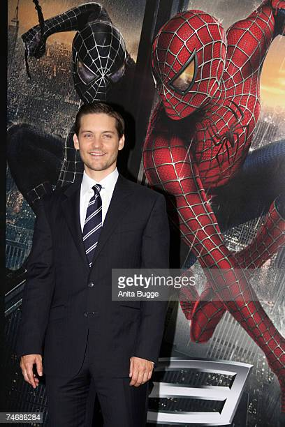 Tobey Maguire at the Cinestar Cinema Berlin in Berlin Germany