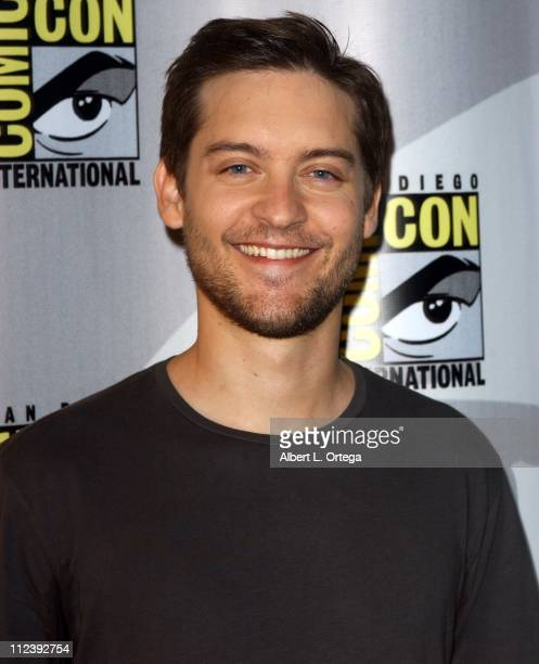 Tobey Maguire during 37th Annual ComicCon International Day 3 at San Diego Convention Center in San Diego California United States