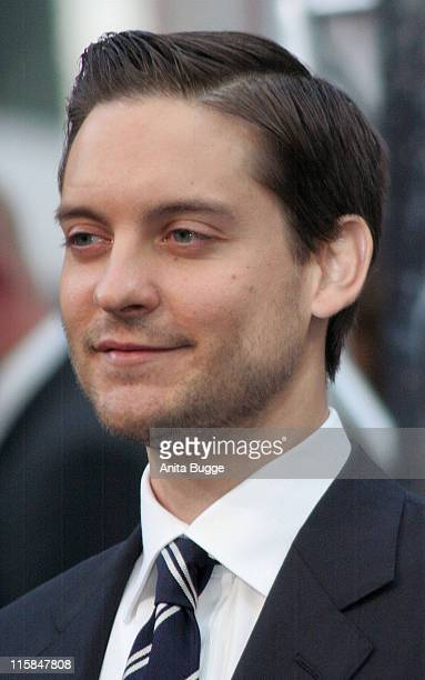 """Tobey Maguire during """"Spider-Man 3"""" Berlin Premiere at Cinestar Cinema Berlin in Berlin, Berlin, Germany."""