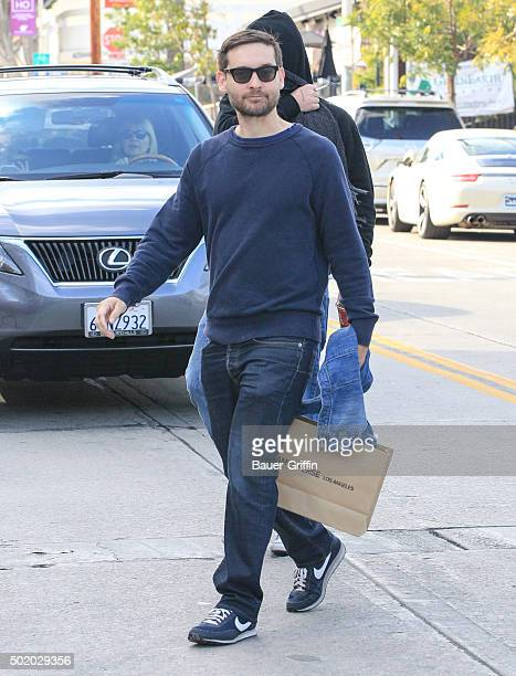 Tobey Maguire is seen on December 19 2015 in Los Angeles California
