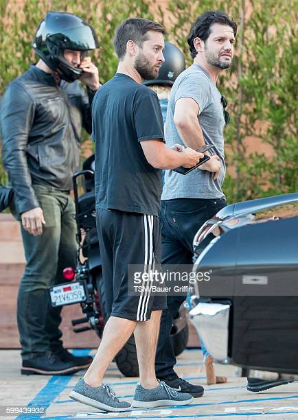 Tobey Maguire is seen on September 04 2016 in Los Angeles California