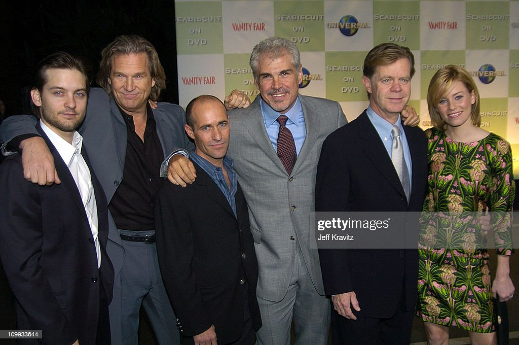 Tobey Maguire, Jeff Bridges, Gary Stevens, Gary Ross, director, William H. Macy and Elizabeth Banks