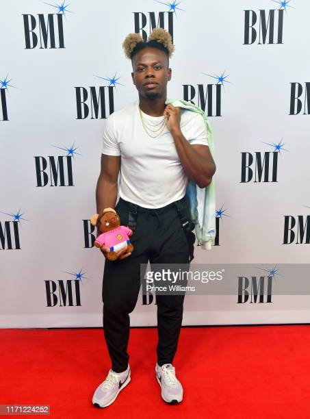 Tobi Lou attends The 2019 BMI RB/HipHop Awards at Sandy Springs Performing Arts Center on August 29 2019 in Sandy Springs Georgia