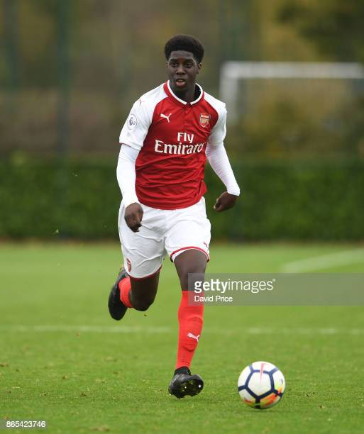 Tobi Olmole of Arsenal during the match between Tottehma Hotspur and Arsenal on October 23 2017 in Enfield England