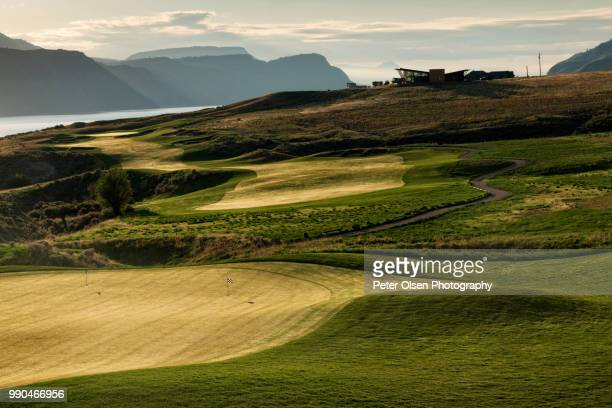 tobiano golf - kamloops stock pictures, royalty-free photos & images