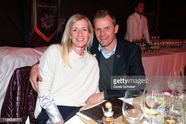 Tobias Angererr Romy Angererr during the FCR EAGLES Masters Toscana golf tournament Dinner of FalkRaudies FCR Immobilien AG at Hotel Il Pelagone and...