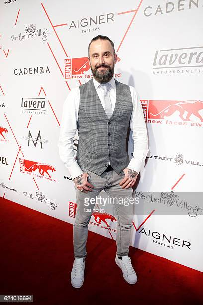 Tobias Bojko attends New Faces Award Style on November 16 2016 in Berlin Germany