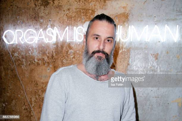 Tobias Bojko attends the First Female DIY Pop Up Store Opening at Seven Star Gallery on November 30 2017 in Berlin Germany