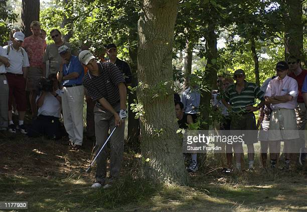 Tobias Dier of Germany on the 11th hole during the final round The TNT Open at the Hilversumsche Golf Club, Hilversum, The Netherlands on July 28,...
