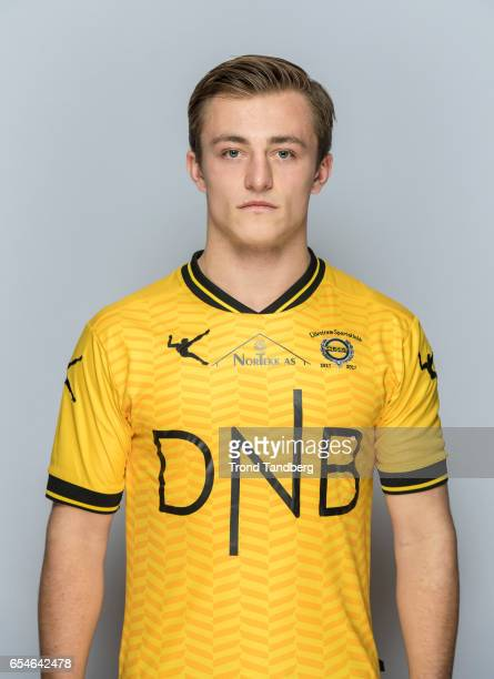 Tobias Gran of Team Lillestrom Sportsklubb LSK during Photocall on March 17 2017 in Lillestrom Norway