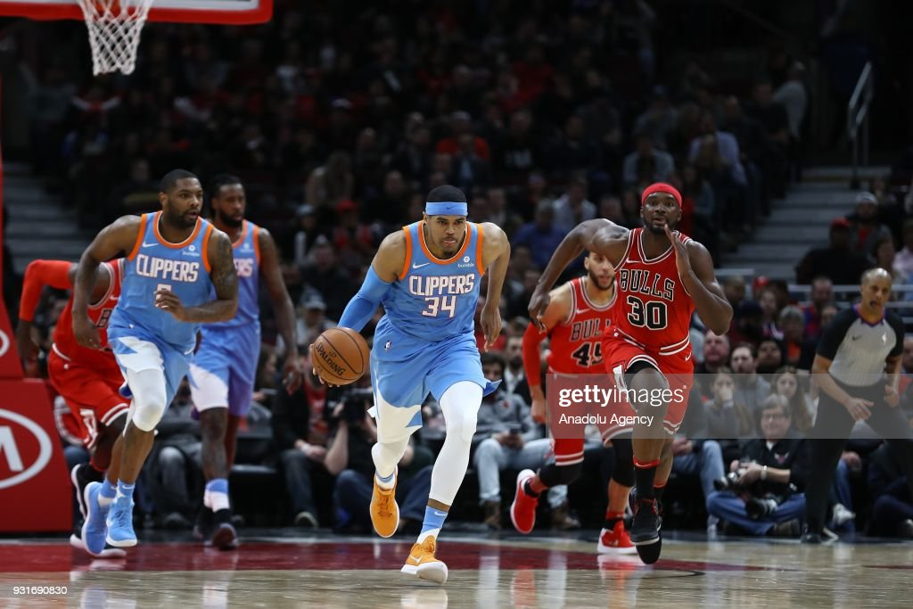 NBA: Chicago Bulls vs Los Angeles Clippers : News Photo