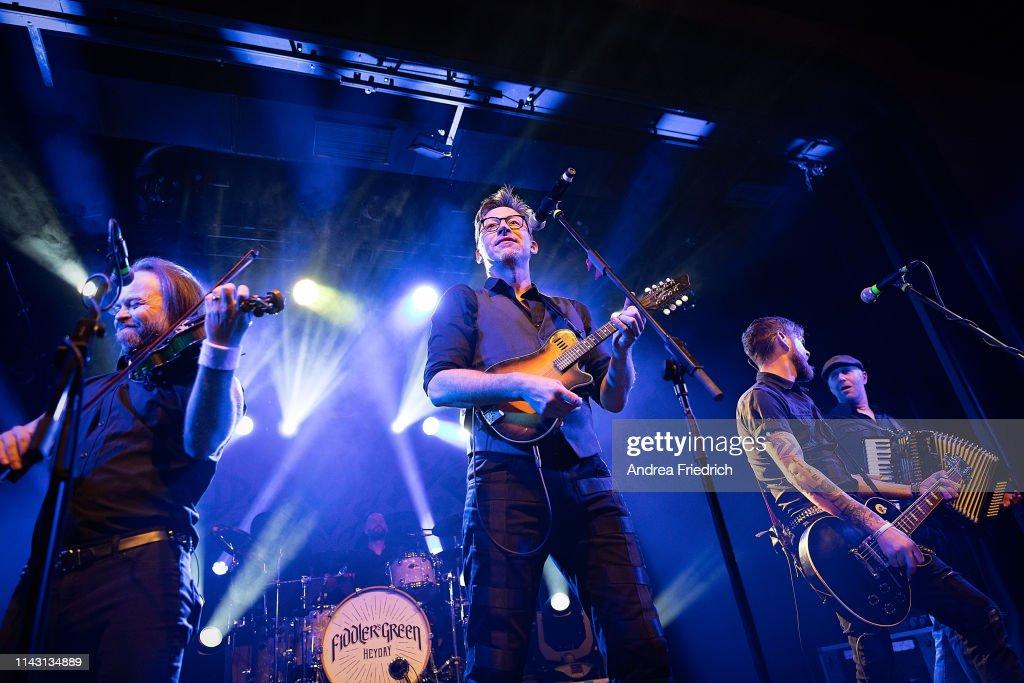 Fiddler's Green Perform In Berlin : News Photo