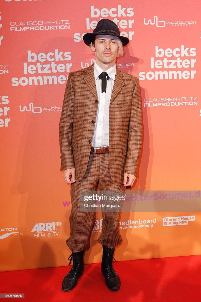 'Becks letzter Sommer' Berlin Premiere