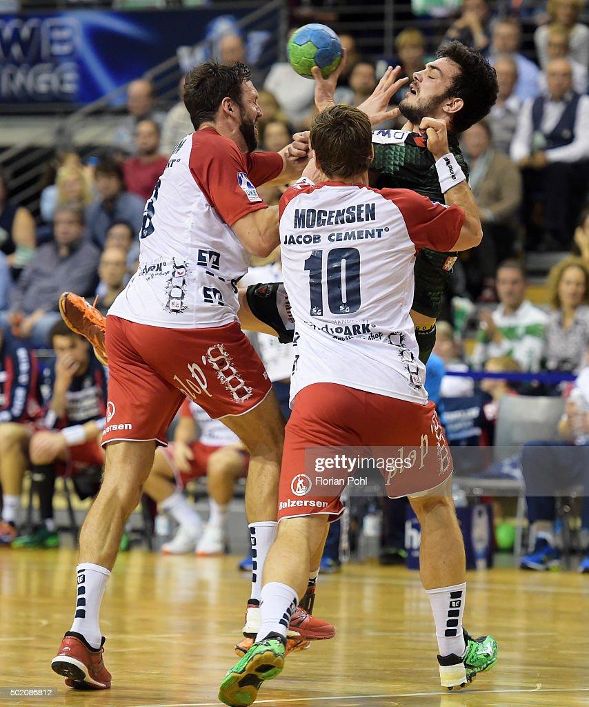 Fuechse Berlin v SG Flensburg-Handewitt - Handball-Bundesliga
