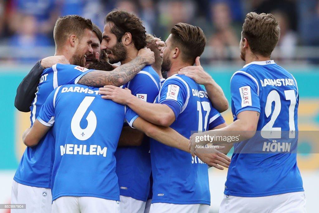 SV Darmstadt 98 v SG Dynamo Dresden - Second Bundesliga