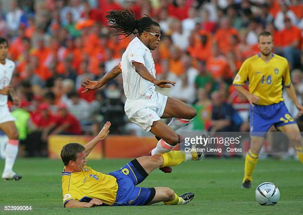 Tobias Linderoth and Edgar Davids | Location FaroLoule Portugal
