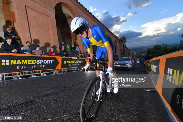 Tobias Ludvigsson of Sweden and Team Groupama - FDJ / during the 102nd Giro d'Italia 2019, Stage 1 a 8km Individual Time Trial from Bologna to San...