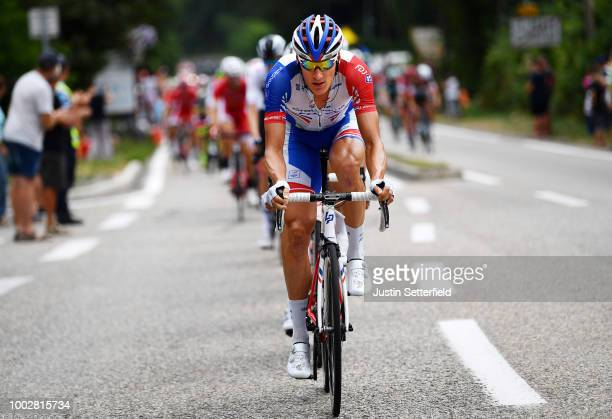 Tobias Ludvigsson of Sweden and Team Groupama FDJ / during the 105th Tour de France 2018, Stage 13 a 169,5km stage from Bourg d'Oisans to Valence /...