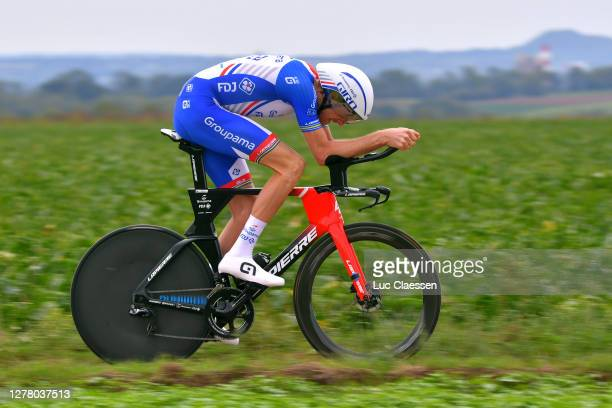 Tobias Ludvigsson of Sweden and Team Groupama - FDJ / during the 16th BinckBank Tour 2020, Stage 4 a 8,14km Individual Time Trial from Riemst to...