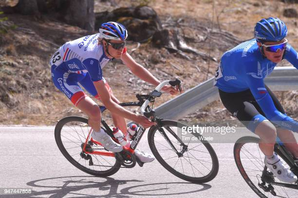 Tobias Ludvigsson of Sweden and Team Groupama FDJ / during the 42nd Tour of the Alps 2018, Stage 2 a 145,5km stage from Lavarone to Alpe di Pampeago...