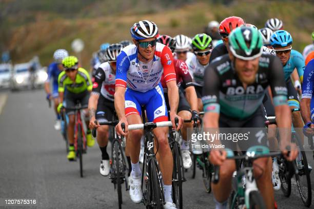 Tobias Ludvigsson of Sweden and Team Groupama - FDJ / during the 46th Volta ao Algarve 2020, Stage 2 a 183,9 km stage from Sagres - Vila do Bispo to...