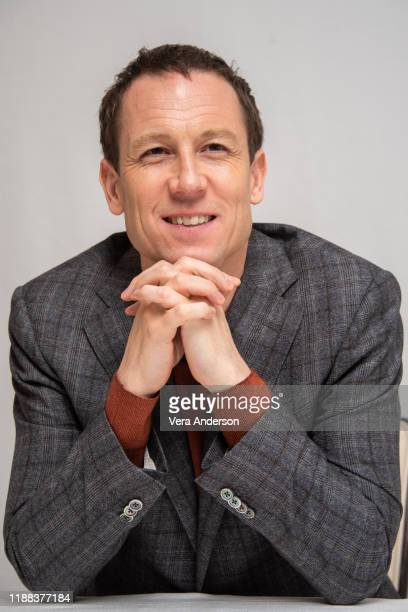 """Tobias Menzies at """"The Crown"""" Press Conference at the Four Seasons Hotel on November 15, 2019 in Beverly Hills, California."""