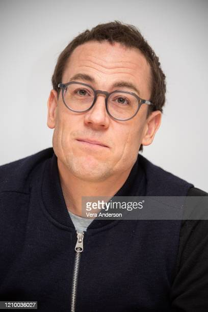 Tobias Menzies at the The Crown Set Visit at undisclosed location on March 02 2020 in London England
