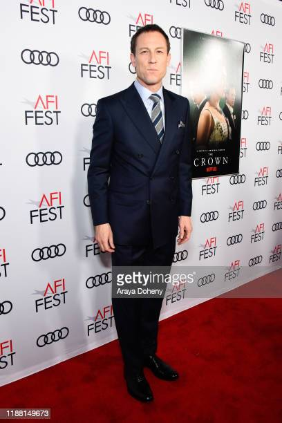 Tobias Menzies attend AFI Fest The Crown Peter Morgan Tribute at TCL Chinese Theatre on November 16 2019 in Hollywood California