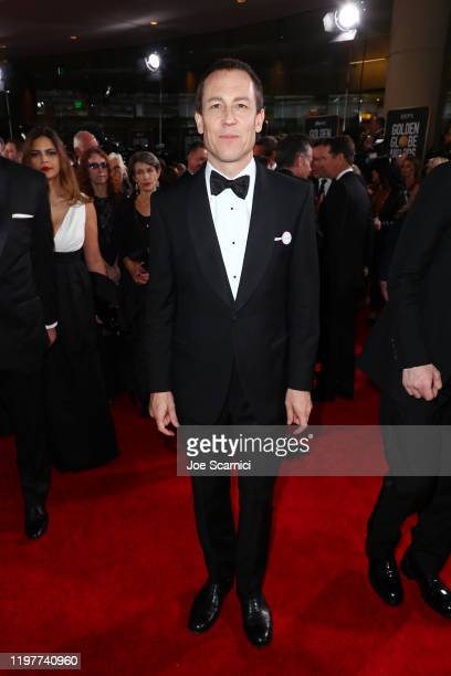 Tobias Menzies attends the 77th Annual Golden Globe Awards at The Beverly Hilton Hotel on January 05 2020 in Beverly Hills California