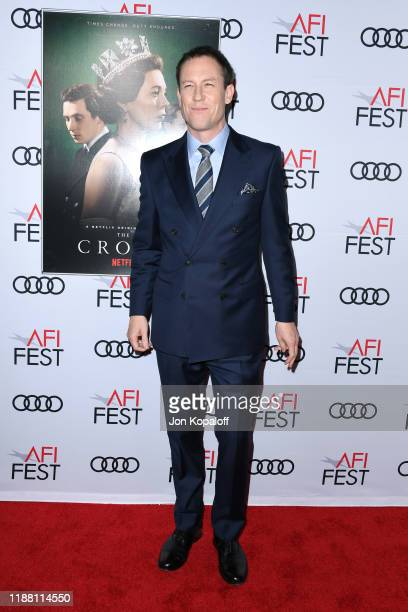 Tobias Menzies attends 'The Crown' Premiere at AFI FEST 2019 presented by Audi at TCL Chinese Theatre on November 16, 2019 in Hollywood, California.