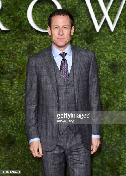"""Tobias Menzies attends """"The Crown"""" Season 3 world premiere at The Curzon Mayfair on November 13, 2019 in London, England."""