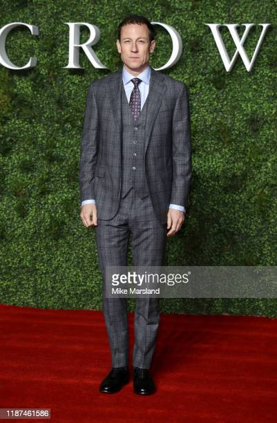 Tobias Menzies attends The Crown Season 3 world premiere at The Curzon Mayfair on November 13 2019 in London England